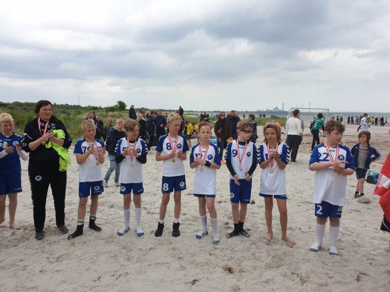 U11 og U13 Drenge – beachvindere!