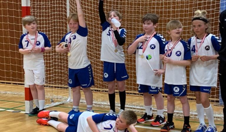 U 10 drenge C vandt medaljestævnet